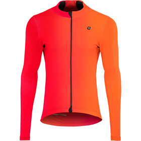 Biehler Thermal Rain Jersey longsleeve Men farbwechsel red